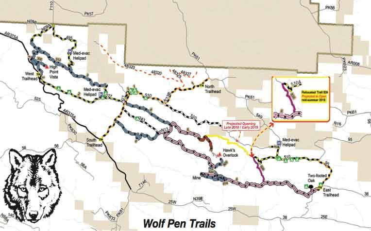 Wolf Pen Gap Trail Map | Wolfpen ATV Campground